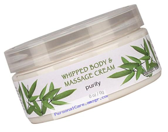 Spa...ah Massage and Whipped Body Cream - Purify (Bamboo Leaf) - 8 oz